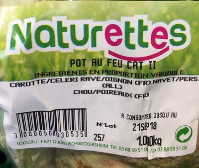 Légumes à pot au feu - Ingredienti