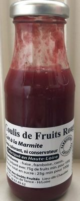 Coulis de fruits rouges - Produit - fr