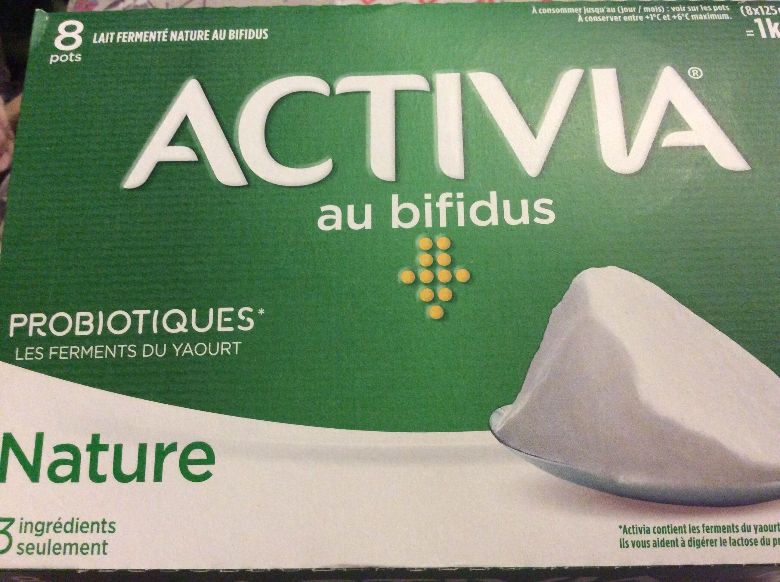 Lait fermenté nature au bifidus - Produit - fr