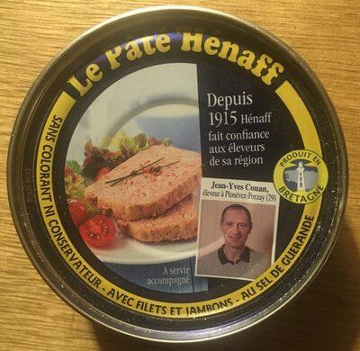 Le Pâté Hénaff - 製品 - fr