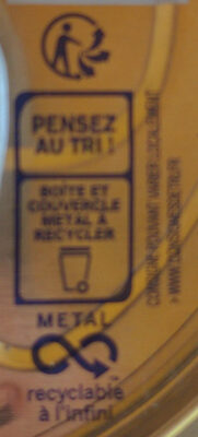 Le Pâté Hénaff - Recycling instructions and/or packaging information - fr