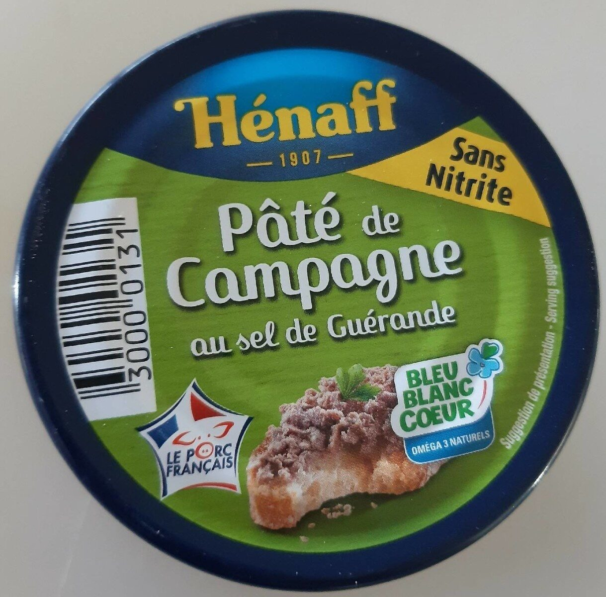 Le pâté de Campagne - Produit - fr