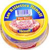 Les Rillettes Hénaff, Pur Porc - Product