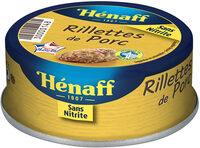 Rillettes de porc Hénaff - Produit - fr