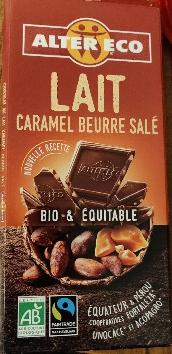 Lait caramel beurre salé - Produit - fr