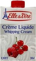 Crème liquide UHT - Produit - fr
