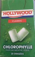 Hollywood Classic Chorophylle menthe verte - Produit