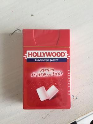 Chewing-gum parfum fraise des bois - Produit