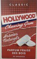 Chewing-gum parfum fraise des bois - Produit - fr