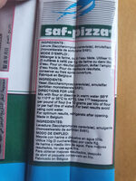 Saff Pizza Instant Dry Yeast 125G - Product - fr