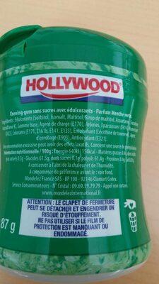 Chewing-gum green fresh - Ingrédients