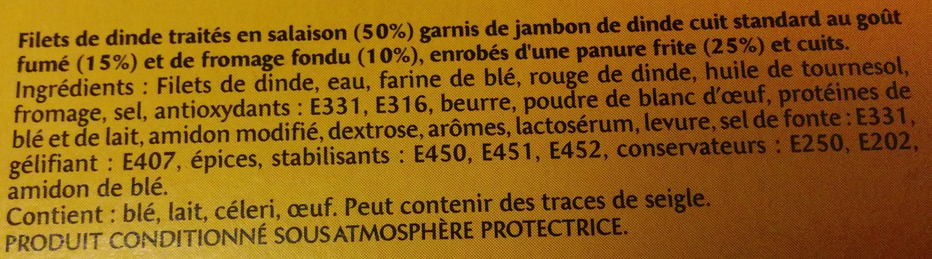 Escalope Cordon Bleu - Ingrediënten
