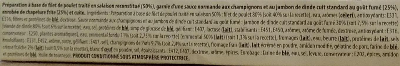 Escalope normande (x 2) - Ingrediënten