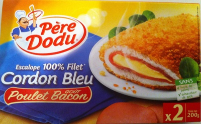 Cordon bleu goût poulet bacon - Product