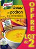 Velouté de potiron à la crème fraîche (lot de 2) - Product