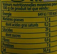 Knorr Assaisonnement En Poudre Aromat Tube 70g - Nutrition facts - fr