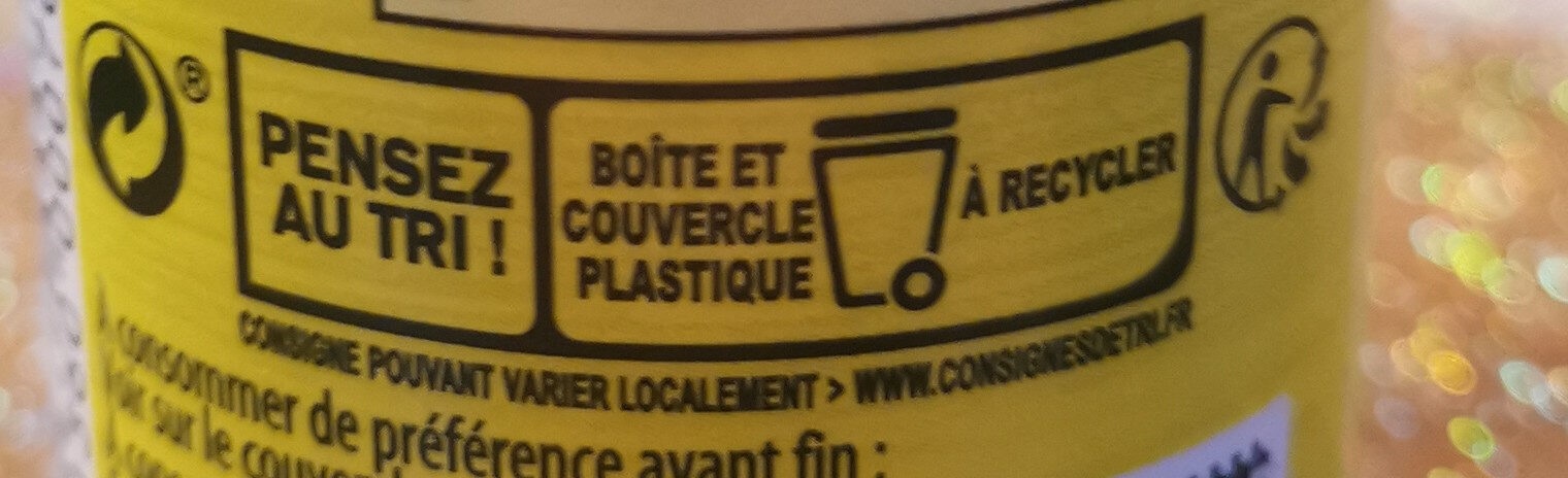 Knorr Assaisonnement En Poudre Aromat Tube 70g - Recycling instructions and/or packaging information - fr