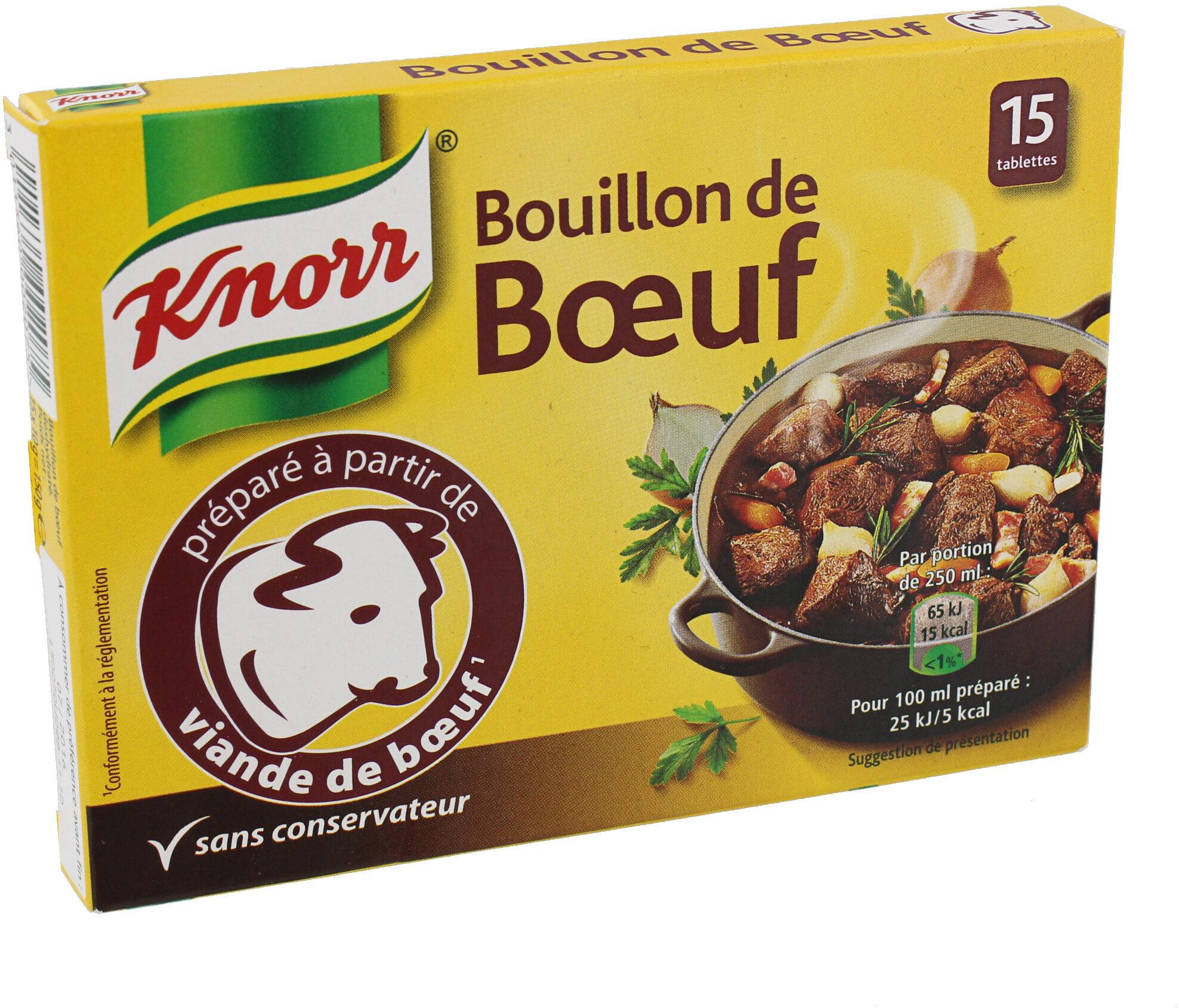 Knorr Bouillon Cube Bœuf 15 Cubes - Prodotto - fr