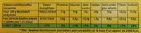 Knorr Bouillon Cube Bœuf 15 Cubes - Valori nutrizionali - fr