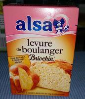 Levure De Boulanger Briochin - 5 Sachets - Produit - fr