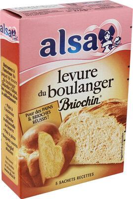 Levure De Boulanger Briochin - 5 Sachets - Product - fr