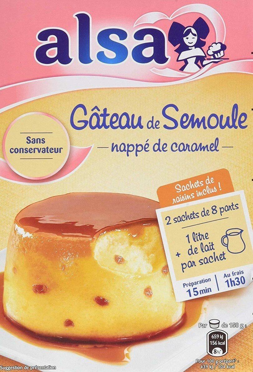 Préparation pour gâteau de semoule - Product - fr