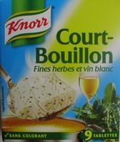 Court-Bouillon Fines herbes et vin blanc (9 Tablettes) - Product
