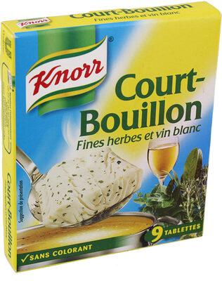 Knorr Court-Bouillon Fines Herbes 9 Cubes - Prodotto - fr