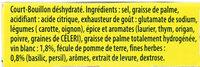 Knorr Court-Bouillon Fines Herbes 9 Cubes - Ingredienti - fr