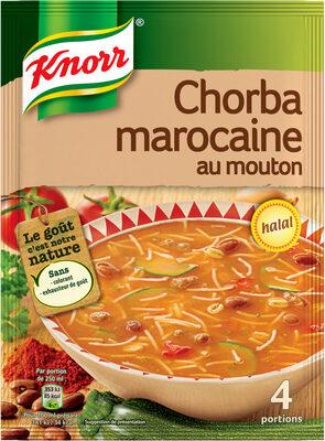 Knorr Soupe Chorba Marocaine au Mouton-Halal 100g 4 Portions - Product - fr