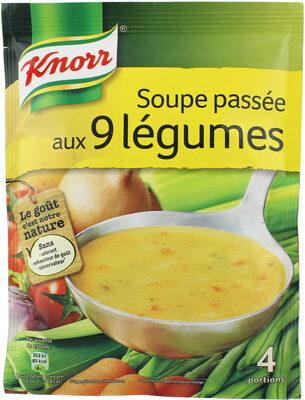Knorr Soupe Déshydratée Passée aux 9 Légumes 105g 4 Portions - Produit