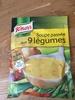 Soupe passee aux 9 legumes - Produit