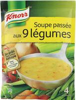 Knorr Soupe Déshydratée Passée aux 9 Légumes - Product - fr