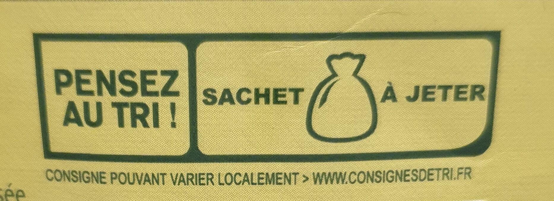 Knorr Soupe Déshydratée Passée aux 9 Légumes - Recycling instructions and/or packaging information - fr