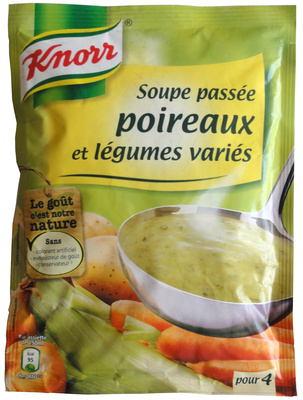 Soupe passée poireaux et légumes variés - Product