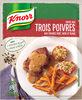 Knorr Sauce Déshydratée Poivres Vert Noir et Blanc 32g - Produit