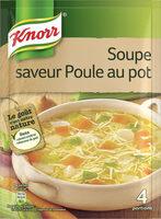 Knorr® Soupe Poule au Pot aux Petits Légumes  4 Portions 1 L - Product - fr