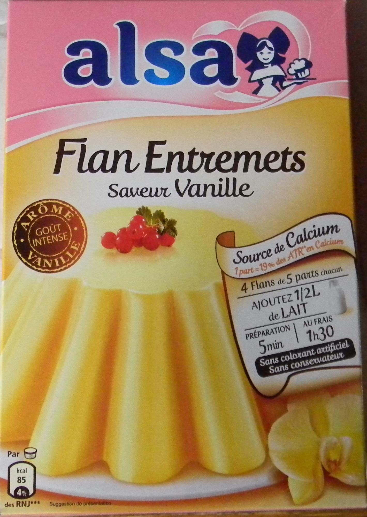 Flan Entremets saveur vanille - Produkt - fr