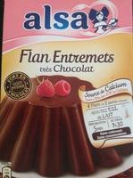 Flan Entremets très chocolat - Produit