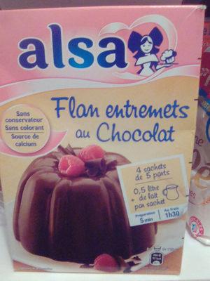 Flan Entremets très chocolat - Ingrédients