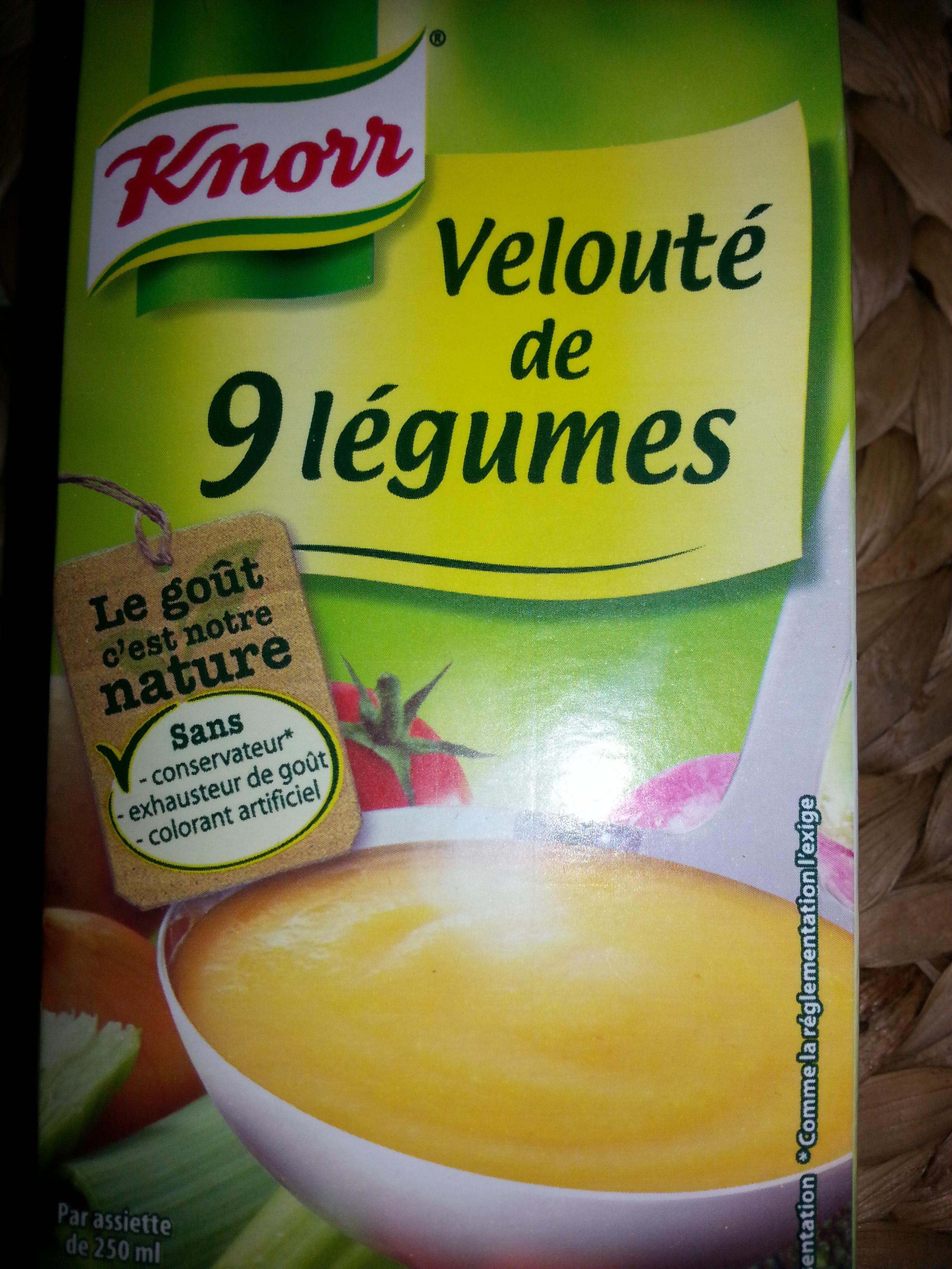 Velouté de neuf légumes - Prodotto - fr