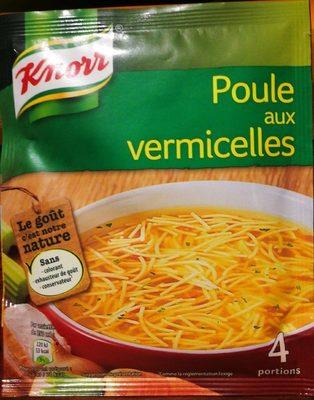Knorr® Soupe Poule aux Vermicelles 63g 4 Portions - Produit - fr