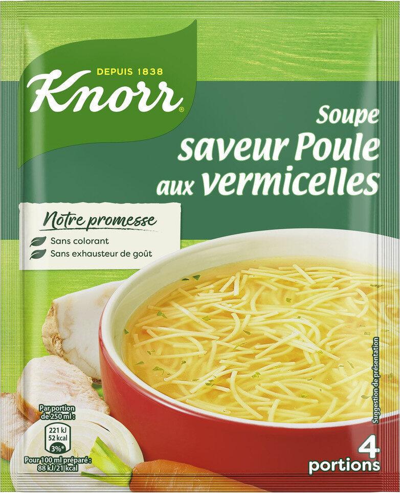 Knorr Soupe Déshydratée Poule Vermicelles - Produit - fr