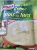 Crème pois au lard Knorr - Produit