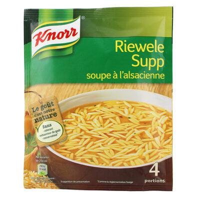 Knorr Soupe À L'Alsacienne Riewele Supp 74g 4 Portions - 8