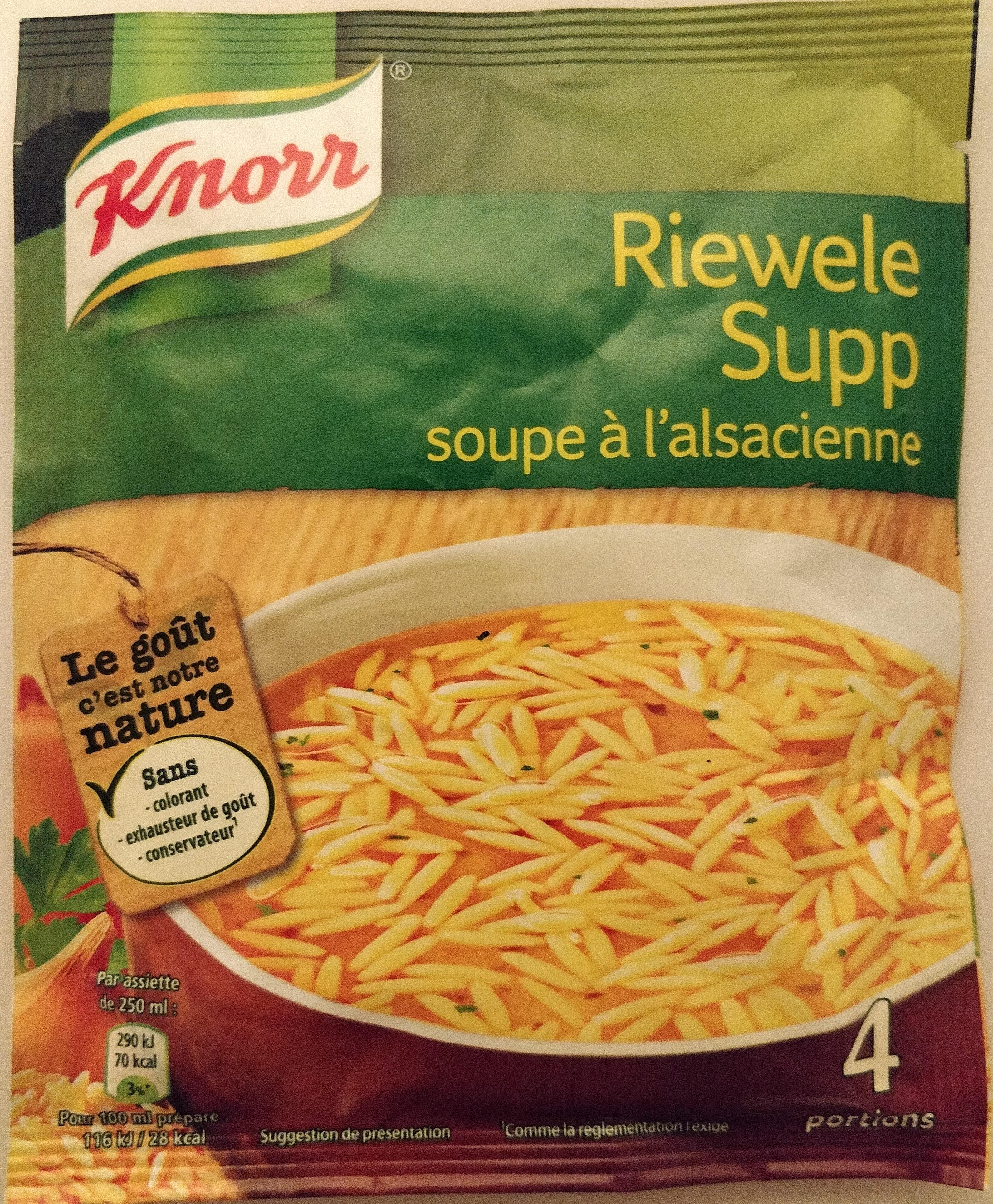 Riewele supp (Soupe à l'alsacienne) - Product