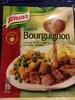 Sauce Bourguignon, cuisinée au vin rouge et aux petits légumes - Product