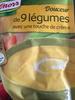 Douceur de 9 Légumes avec une Touche de Crème - Producto
