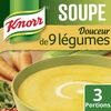 Knorr Douceur de 9 Légumes Touche de Crème 84g 3 Portions - Produit