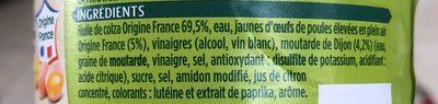 Mayonnaise Classique - Ingrediënten - fr